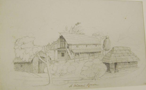 A Murmi house.