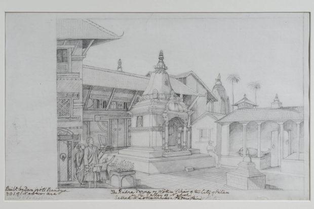 Uba Gathi Cha Temple, Patan.
