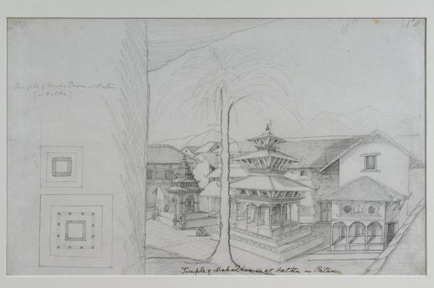 The Mahadeva temple, Patan.
