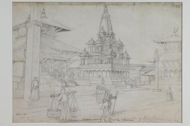 Temple of Krishna and Radha, Patan.
