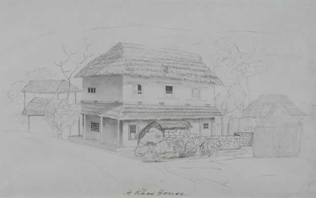 A Khas' (Khus) house.