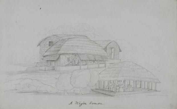 A Magar house.