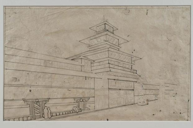 The Durbar at Patan.
