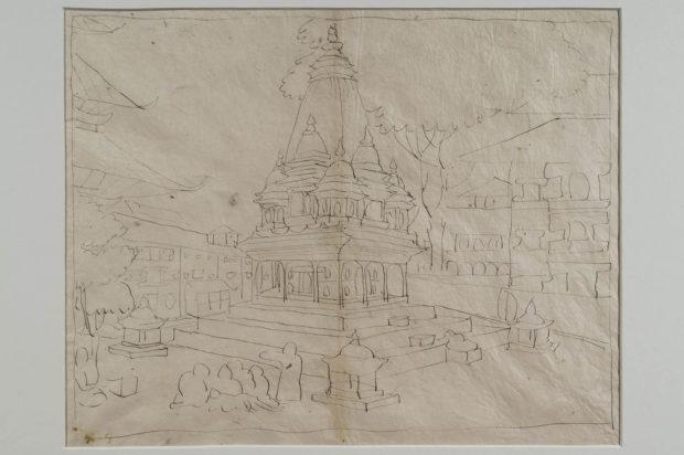 A Hindu temple, Patan.