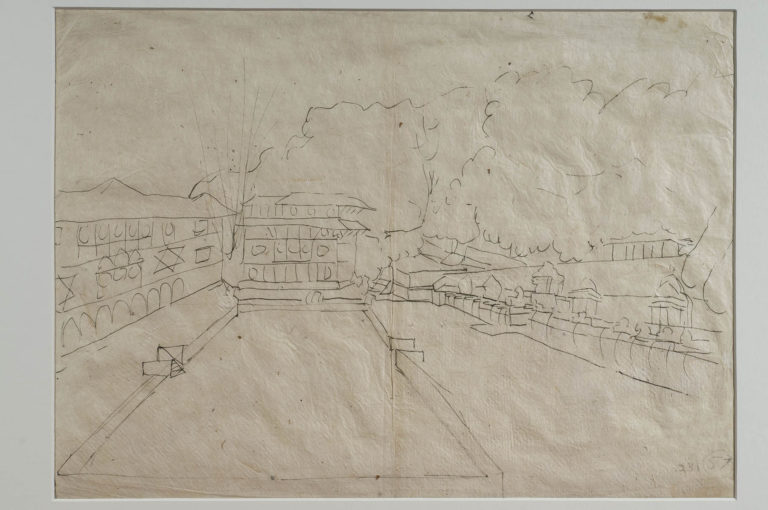 hodgson collection drawings archives royal asiatic society online