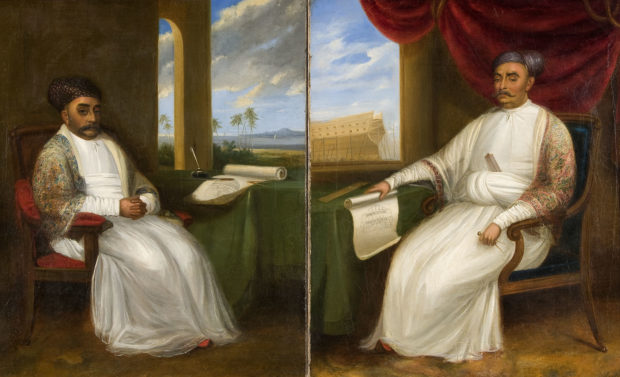 [RAS 01.007-01.008] Jamsetjee Bomanjee (1756-1821) and Nourojee Jamsetjee (1774-1860), shipbuilders