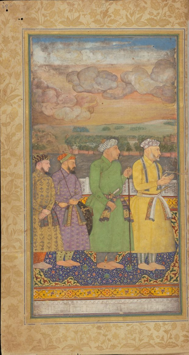 [RAS Persian 310, 6a] The Durbar of Shah Jehan