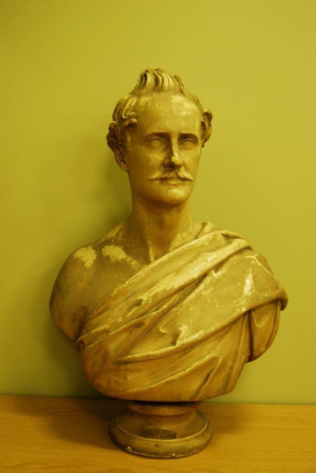 [RAS 02.007] Bust of Brian Hodgson (1800-1894)