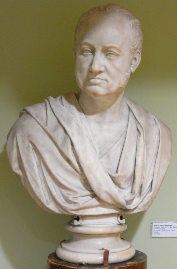 [RAS 02.009] Bust of George Noehden (1770-1826)