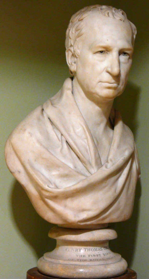 [RAS 02.008] Bust of Henry Colebrooke (1765-1837)