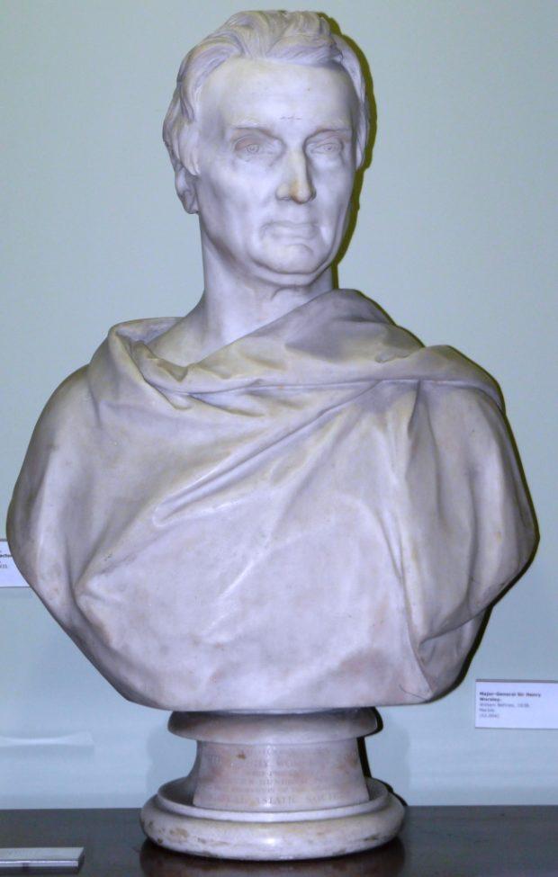 [RAS 02.004] Bust of Sir Henry Worsley