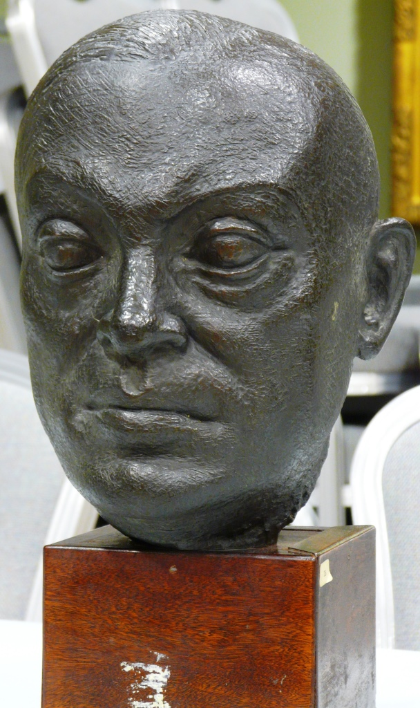 [RAS 02.005] Head of Sir Richard Winstedt (1878-1966)