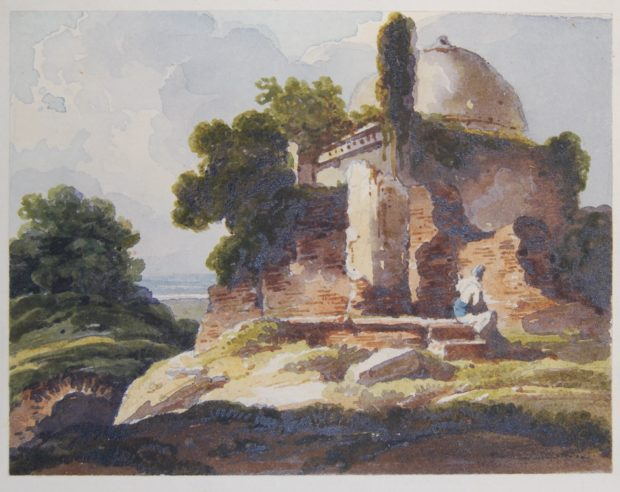 [RAS 015.051] Muslim domed tomb