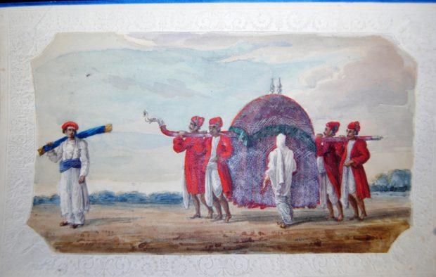 [RAS 015.065] Indian Palanquin